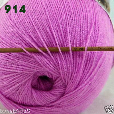 Sale 1 ballx50gr LACE Soft Crochet Acrylic Wool Cashmere Hand Knitting Baby Yarn