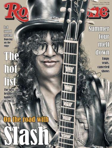 ROLLING STONES-Slash-Magazine Cover Metal Signe//Plaque Home Decor Cadeau,