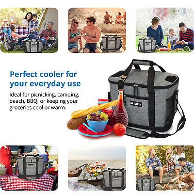 Eltrek Collapsible Insulated Cooler Bag 30-can