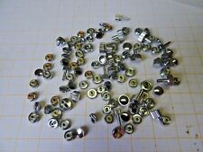 Bastler - Lot mit ca.100 Aufzugs - Kronen Chrom,meist 0,9 mm, ältere Lagerware..