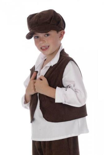 Oliver Urchin Waistcoat Boys Victorian Fancy Dress