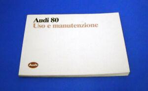 Audi-80-benzina-diesel-e-quattro-Uso-e-Manutenzione-1988