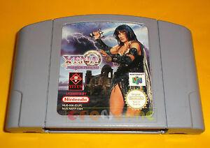 XENA-WARRIOR-PRINCESS-Nintendo-64-N64-Versione-PAL-Europea-SOLO-CARTUCCIA-AJ