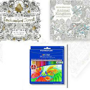 Image Is Loading Johanna Basford Secret Garden 2 Coloring Books FREE