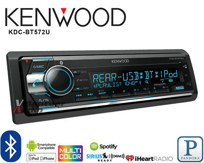 Kenwood Car Stereo Bluetooth Player Pandora Android iPhone Iheart USB AUX  No CD | eBay