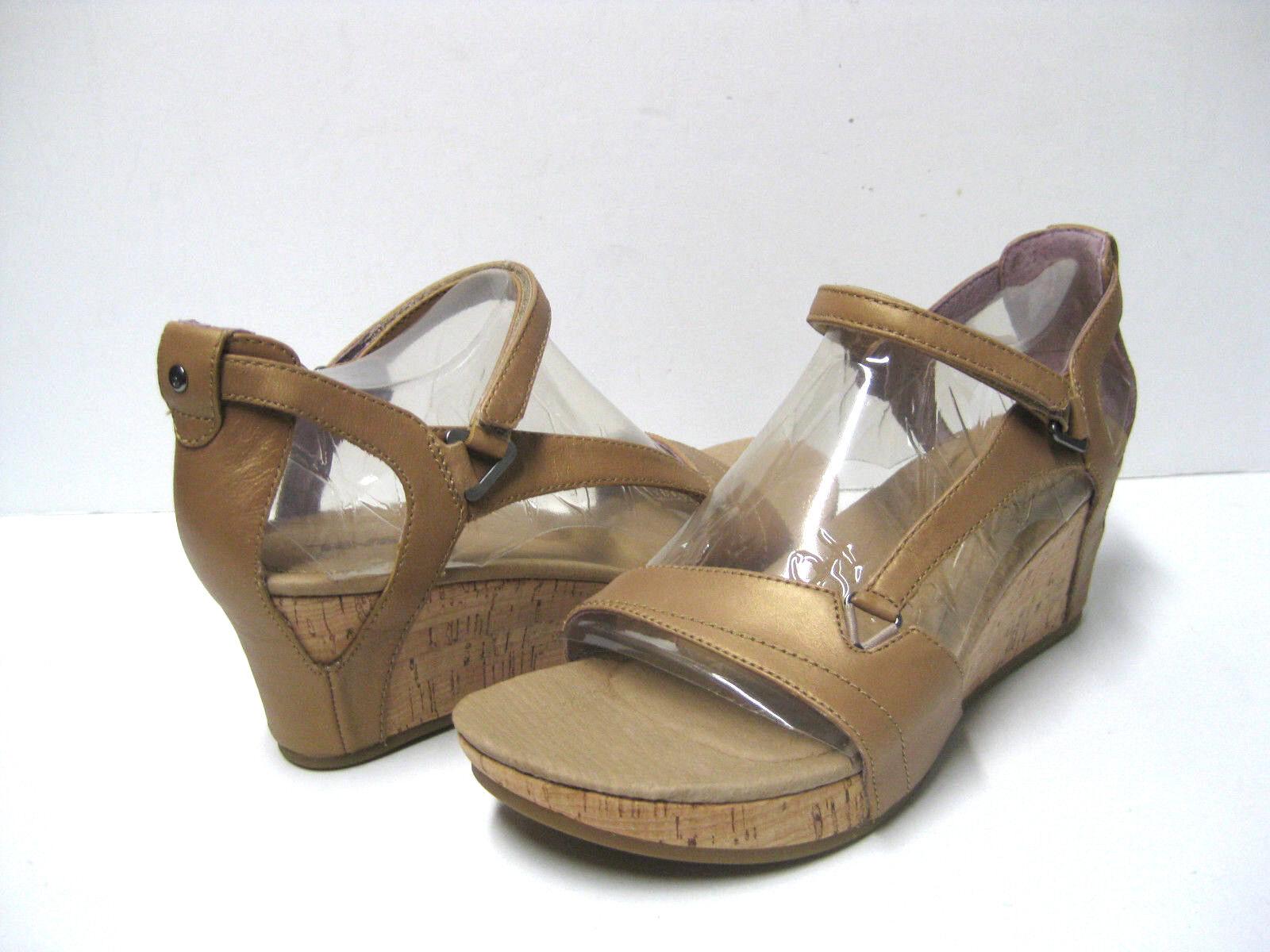 Teva Capri Wedge Pearlized Tan Sandals donna US 9 UK7 EU40