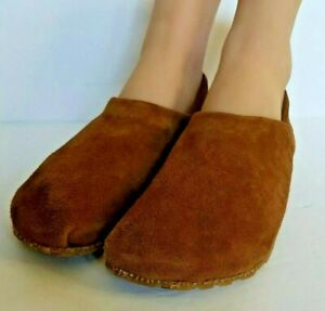 OTZ Cork Lite Womens Shoes Size 38 Goat Suede Slip On Comfort Support Brown