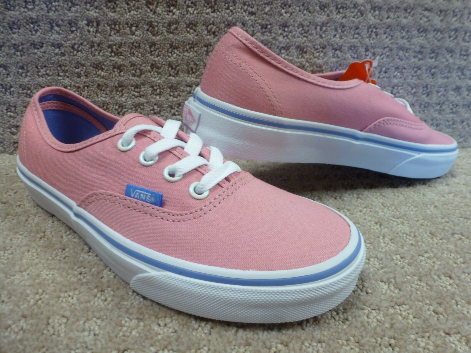 Vans Men's shoes's  Authentic   -- (Iridescent Eyelets) Wild pink , Size 5.5
