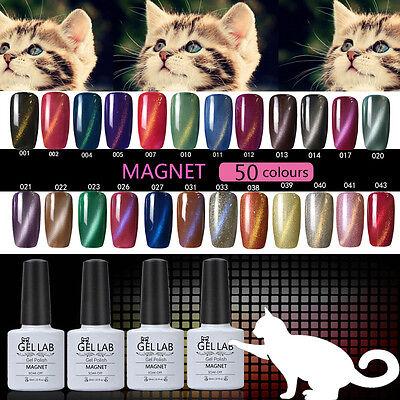 GEL LAB 10ml 90 Colors Magnetic 3D Cat Eye Soak Off UV/LED Gel Polish No. 46-90