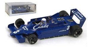 Spark S1734 Tyrrell 009 # 3 Belgique GP 1979 - Didier Pironi Echelle 1/43 9580006917348
