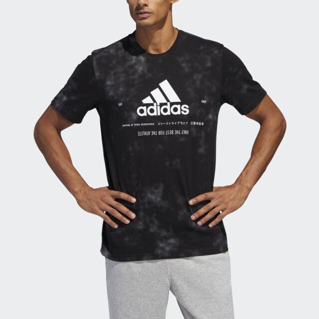 adidas Badge of Sport Wash Tee Men's Shirts