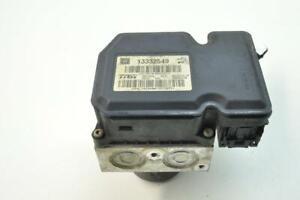 OPEL-Insignia-A-2010-Rhd-Pompa-ABS-Controller-Modulo-13332549