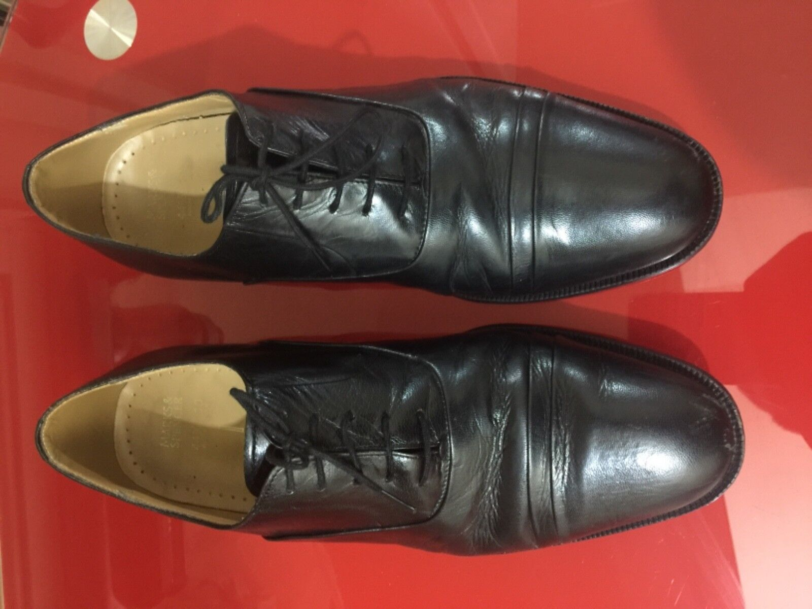 Marks and Spencer Oxford shoe black UK 10