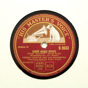 FREDDY-MARTIN-amp-HIS-ORCHESTRA-034-Sabre-Dance-Boogie-034-E-HMV-B-9683-78-RPM
