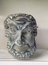 Mexican Wall Hanging Mask Sculpture Face Greek Theater ? Art Warrior ? Decor