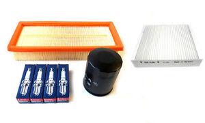 Inspektionsset-Fiat-Grande-Punto-199-1-4-8V-Olfilter-Luftfilter-Pollenfilter