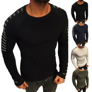 ITS-Fashion-Men-Winter-Sweater-Round-Neck-Long-Sleeve-Knitwear-Slim-Pullover-Si