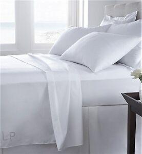 400-fils-au-pouce-Uni-100-Coton-Egyptien-Taie-d-039-oreiller-qualite-Hotel