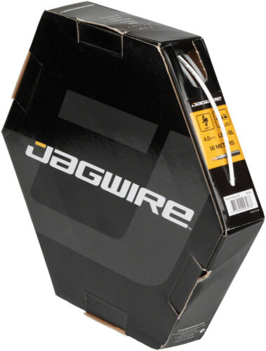 Jagwire 4mm Basics Derailleur Housing 200M Shop Box with End Caps Included