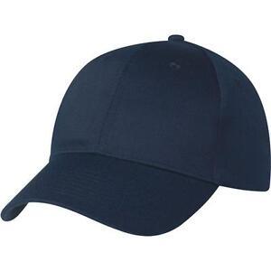 Hüte & Mützen Diplomatisch Navy 6 Panel Baseball Cap New One Size Only £3.99 Taille Und Sehnen StäRken Kleidung & Accessoires