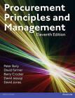 Procurement, Principles & Management by David Jessop, David Jones, Peter Baily, Barry Crocker, David Farmer (Paperback, 2015)