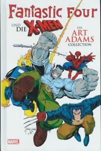 FANTASTIC-FOUR-X-MEN-COLLECTION-HC-deutsch-ART-ADAMS-Variant-Hardcover-lim-333