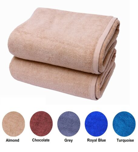 Luxury Bath Towels Hotel Quality Large Egyptian Cotton 600gsm Sheet Absorbent