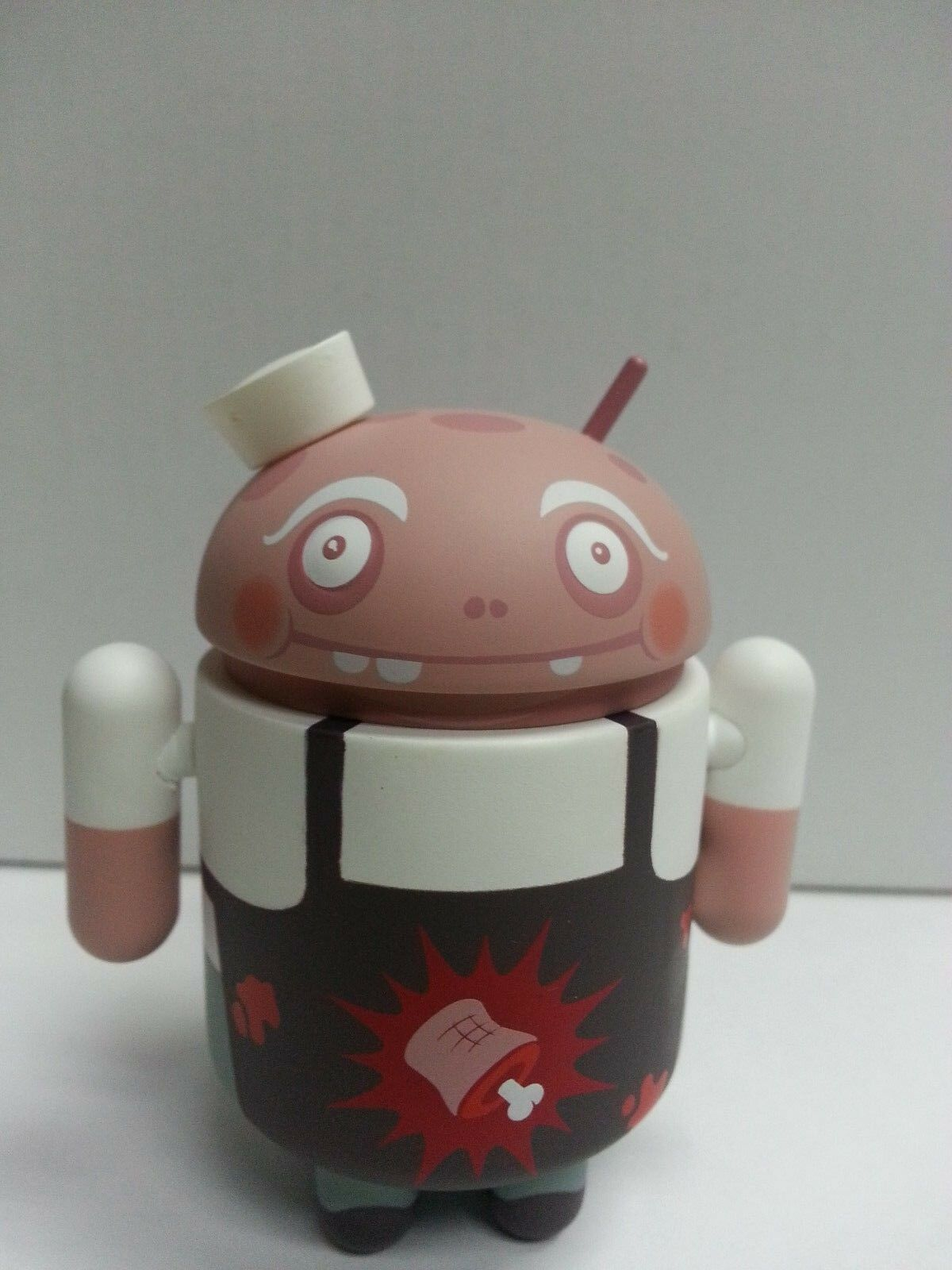 GOOGLE ANDREW BELL ANDROID MINI COLLECTIBLE Series 5  Meat Master  (Chase) 3in