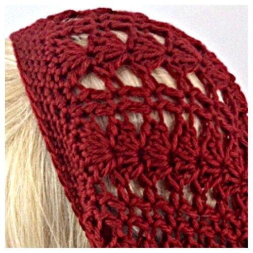 Women/'s Handmade SLOUCHY BEANIE Hat Rasta EXTRA Soft BAGGIE Tam Solid AUTUMN RED