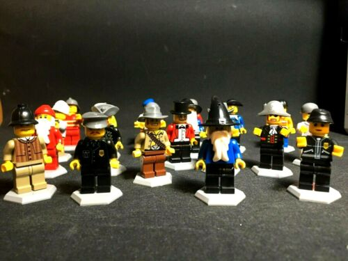6 Mini Figure Characters Normal People Building Blocks Party bag Pinata Assorted