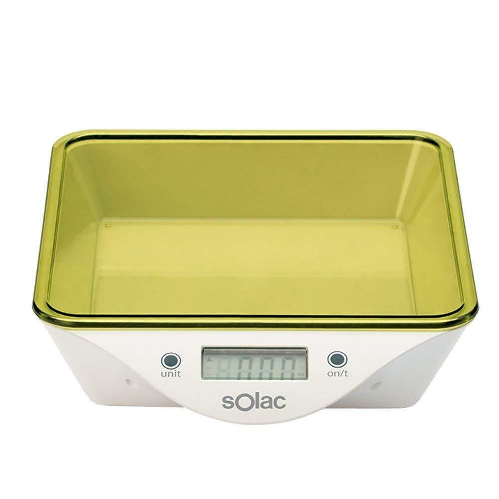 Solac BC6260 - Balance kitchen high-precision steps from 1 g - Max. 5 Kgs