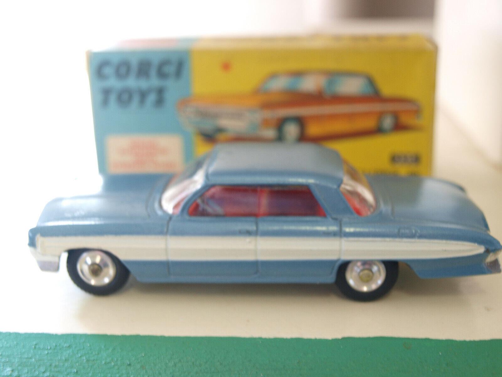 Vintage CORGI No.235. OLDMOBILE SUPER 88  (AMERICAN GARAGE SERIES)
