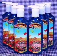 6 Bath & Body Works Crisp Morning Air Deep Cleansing Hand Soap