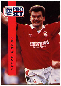 Nigel Clough Nottingham Forest #172 Football Set Pro commerce 1990-1 carte C363