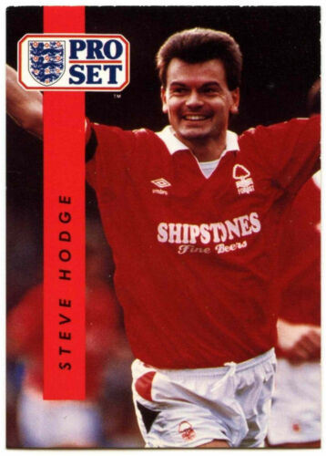 C363 Carte de 1990-1 commerce Pro Set Football Steve Hodge Nottingham Forest #171