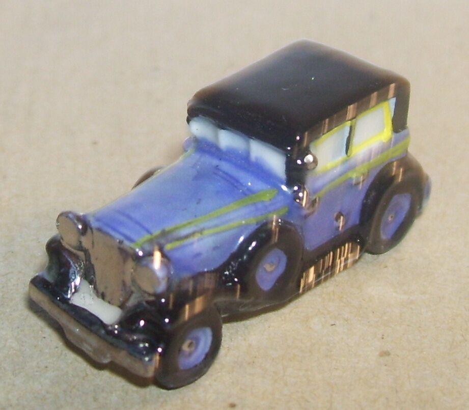 RARE RENAULT REINASTELLA 1932 purple FEVE PORCELAINE 3D 1 160