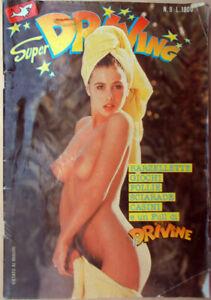 1986-n-9-Super-DRIVING-Edilfumetto-Belle-Donne-Sexy-Erotica-erotic-barzellette