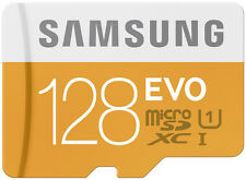 Samsung Evo 128GB microSDXC card with Adapter 128 GB Micro Sd 48mb/s