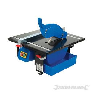 Silverline 450w Electric Wet Tile Cutter Floor Wall Tilling Diamond Cutting Tool