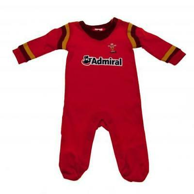 Wales Welsh Rugby Team 2 Pack Bodysuit Babygrow Vest 12//18 mths GD