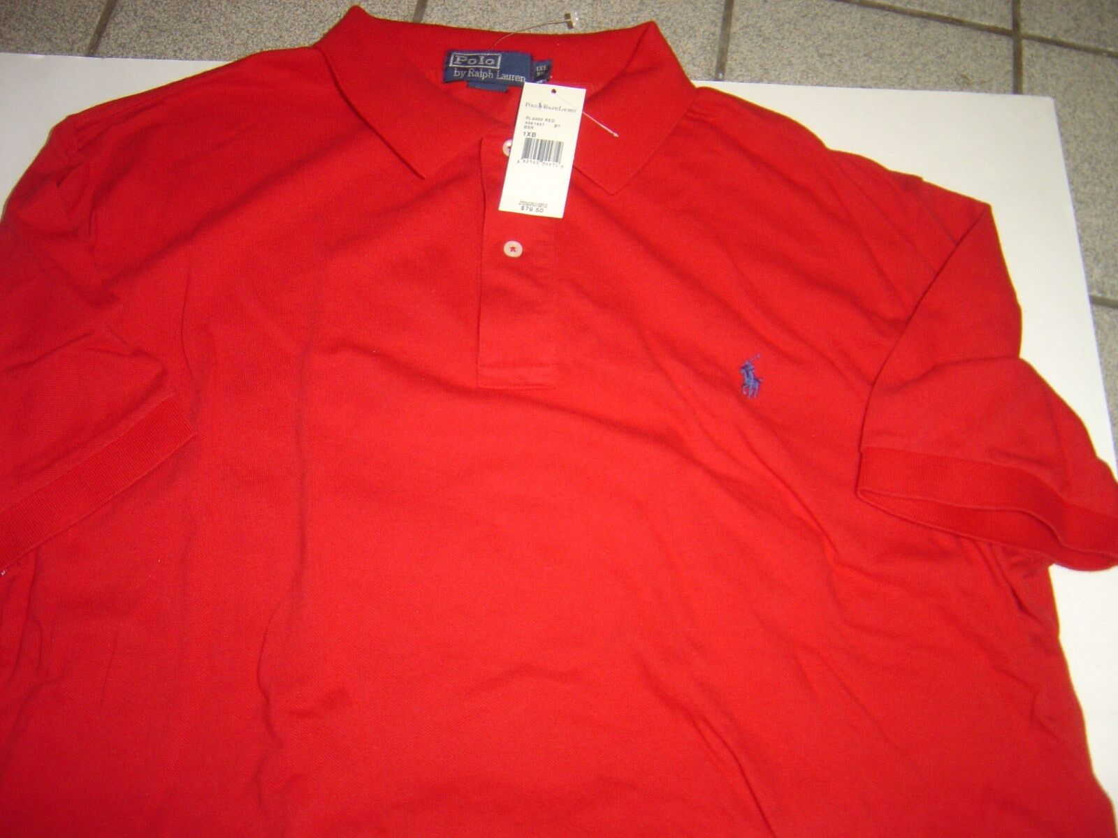red polo shirt big w