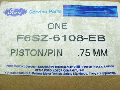 NEW OEM 1996 Ford Thunderbird 3.8L Supercharged Engine Piston Super-Coupe 1