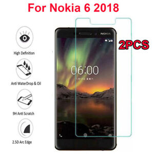 For Nokia 6 2018 Best 100% Genuine Tempered Glass Guard Screen Protection Cases, Covers & Skins
