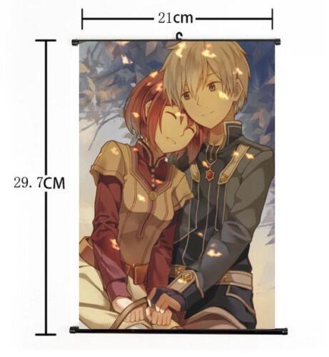 "Hot Japan Anime Akagami No Shirayukihime Home Decor Wall Scroll 8/""×12/"" 01"