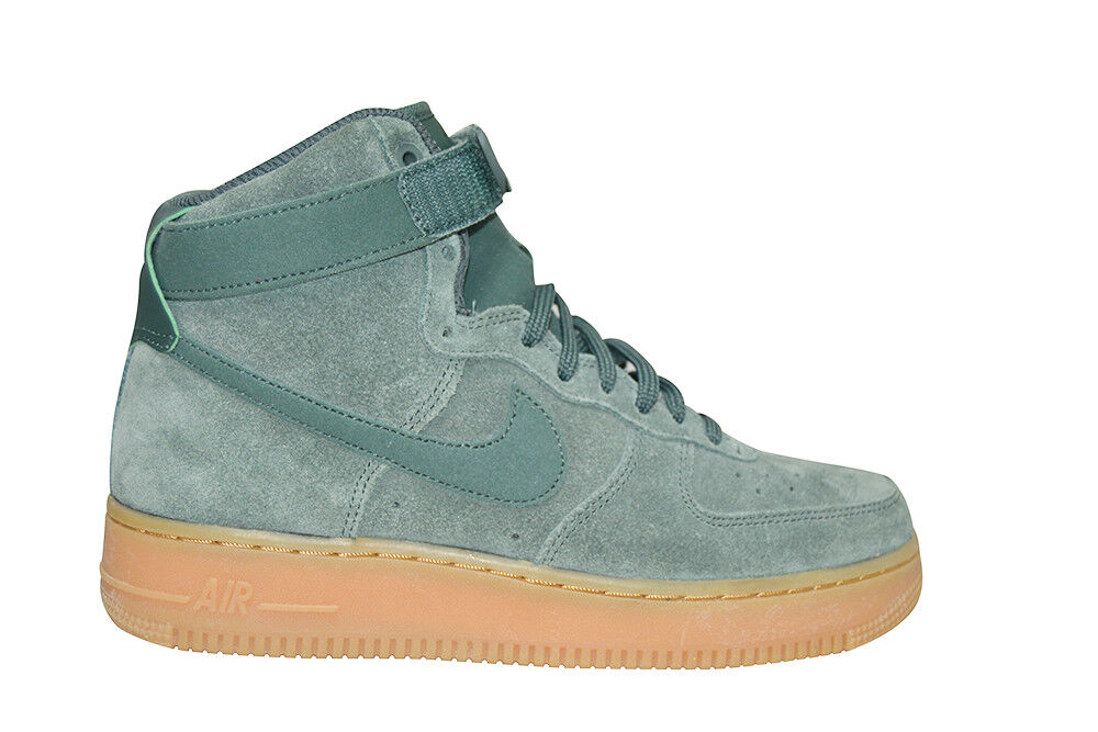 femmesNike Air Force 1 High SE - 860544 301 -Vintage Green Yellow Trainers