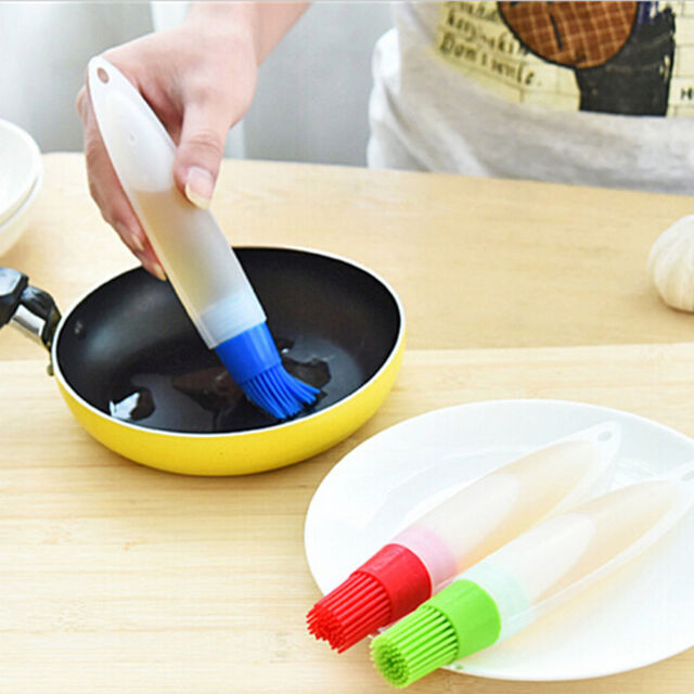 New Silicone Baking Brush Liquid Oil Pen Butter Bread Pastry Brush Kitchen Tools