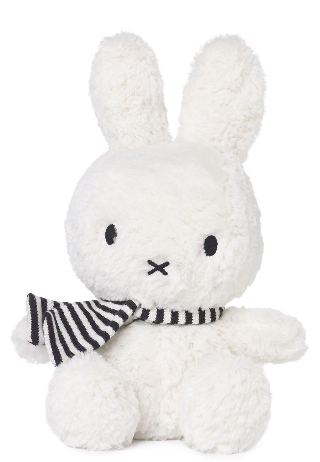 Nijntje Miffy  Bon Ton Toys -bianco che Sta Seduto Miffy W Fascia 24cm-Suitable