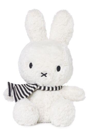 Nijntje-Miffy-Bon Ton Toys-blanc assis Miffy avec écharpe 24 cm-Convient de la naissance