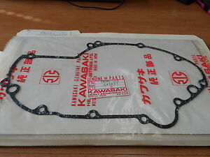 NOS-OEM-Kawasaki-Right-Engine-Cover-Gasket-1969-76-H1-MACH-III-KH500-14046-014