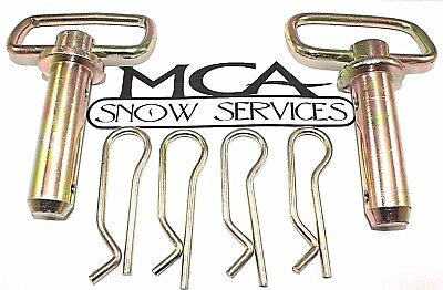"""2 1/"""" HITCH PINS w// Hairpin Cotters for Western 93028 Unimount Buyers 1302245"""